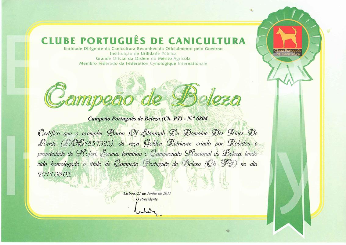 Baron Portugal Title-1