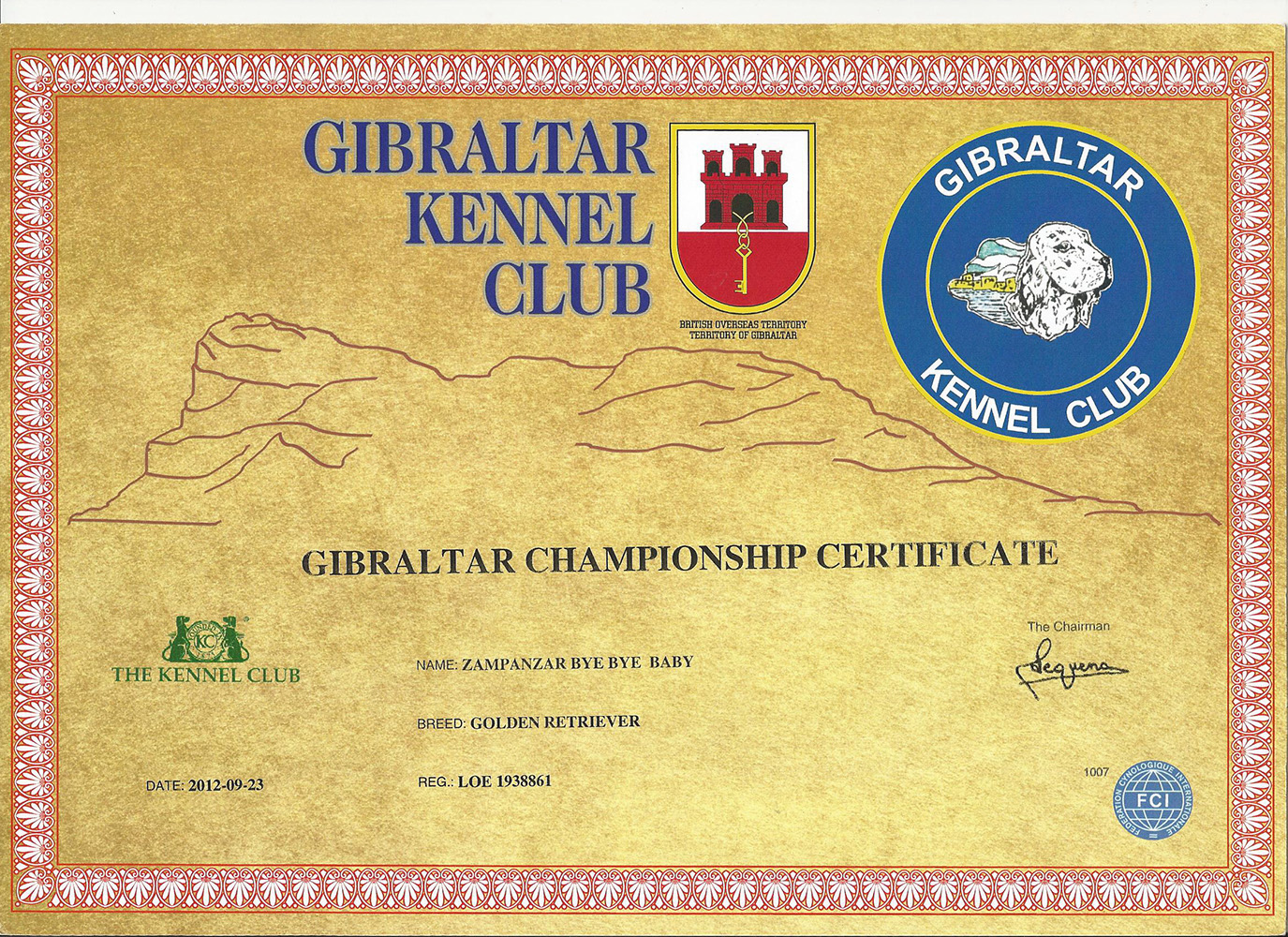 RISOTTO GBZ CHAMPION CERTIFICATEbis