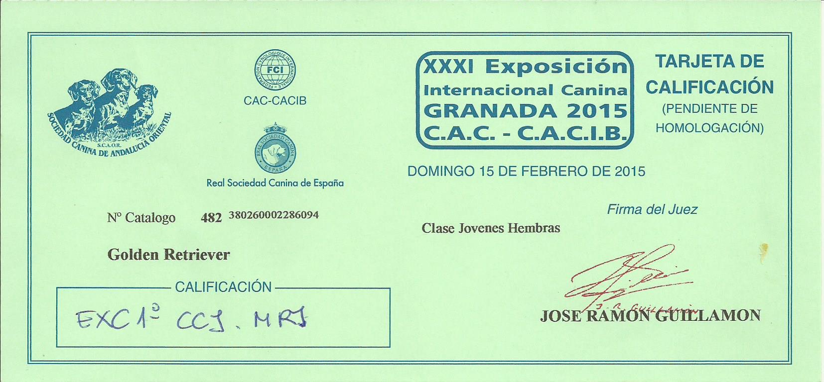 WEB TIARE CC JR GRANADA INTL 2015